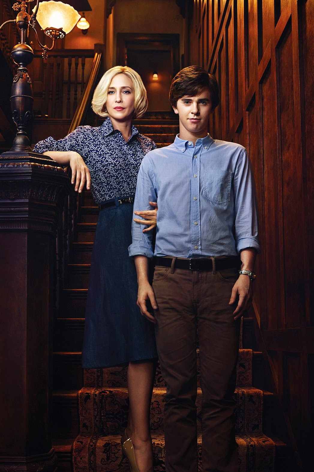 Bates Motel second season 2 Freddie Highmore Vera Farmiga