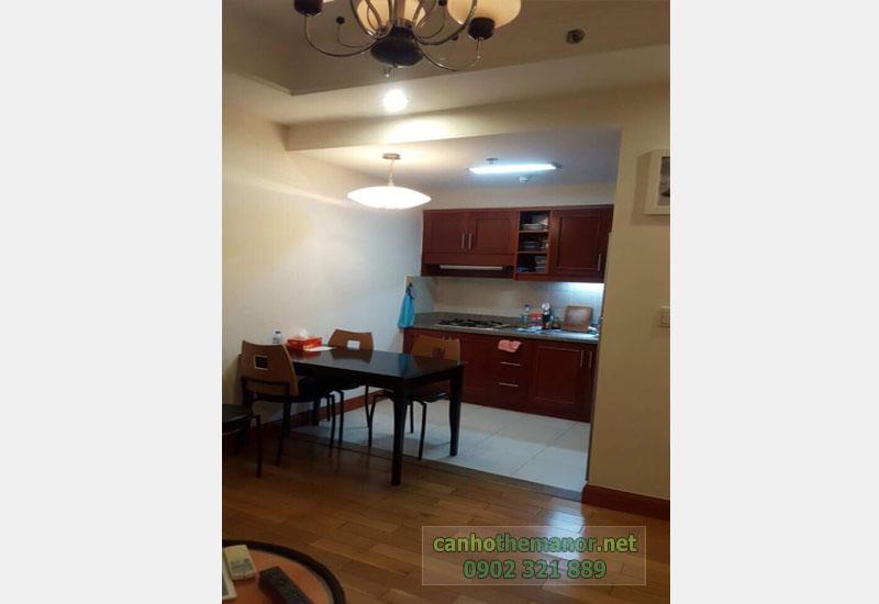 Cho thuê căn hộ The Manor HCM diện tích 83m2 - bếp và bàn ăn