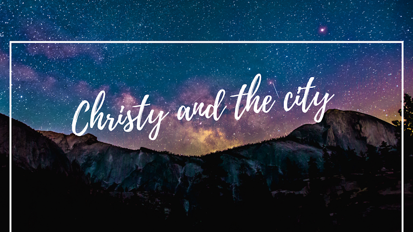 Christy and the city