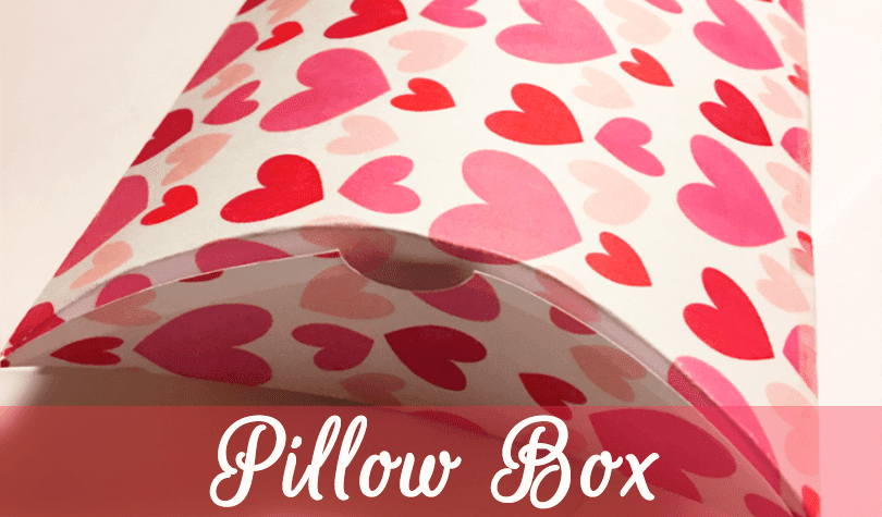 Free DIY Valentine Pillow Box