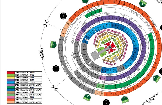 Mcg seating map 2021