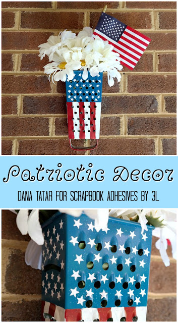 Patriotic Decor by Dana Tatar for Scrapbook Adhesives by 3L
