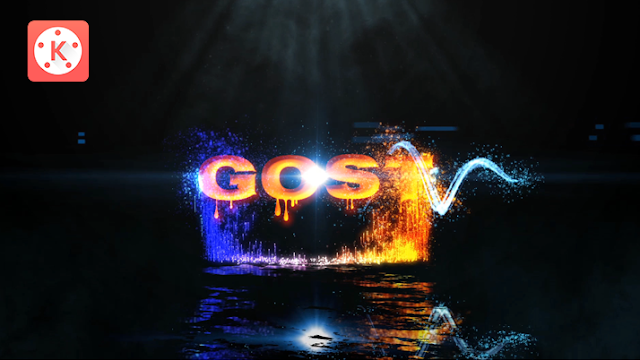 Glow Particles Intro & Text Animation Kinemaster Tutorial