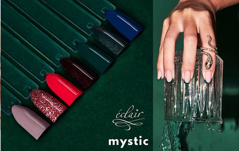 eclair nails mystic