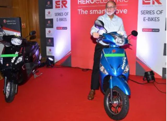 New hero electric scooter optima ER and NYX ER in India.