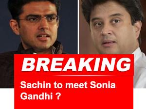 राजस्थान संकट: कांग्रेस आलाकमान से मिलने के लिए दिल्ली में डिप्टी सीएम सचिन पायलट, एनसीआर में   वफादार