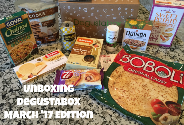 Degustabox Review - March Unboxing