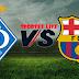 مباراة برشلونة ودينامو كييف فى دورى ابطال اوروبا