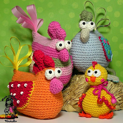 crochet bird pattern, amigurumi pattern, crochet easter, crochet Vendulka, crochet chicken pattern, crochet easter decoration