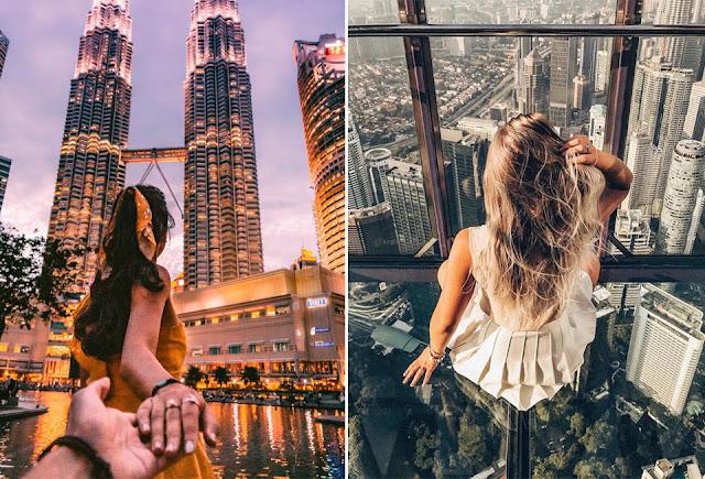 2 ngày oanh tạc Kuala Lumpur, thủ đô rộng lớn của Malaysia