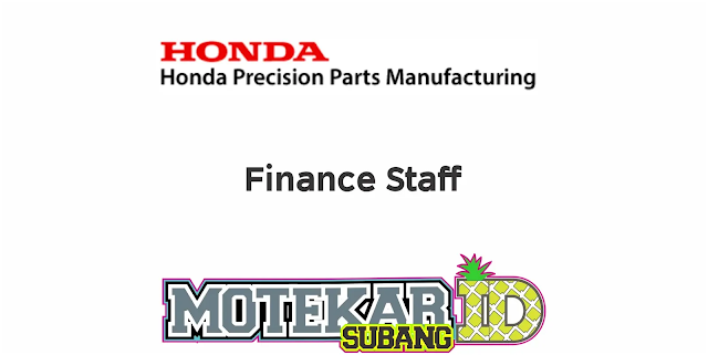 Lowongan Kerja PT Honda Precision Parts Manufacturing (HPPM) April 2020 - Motekar Subang