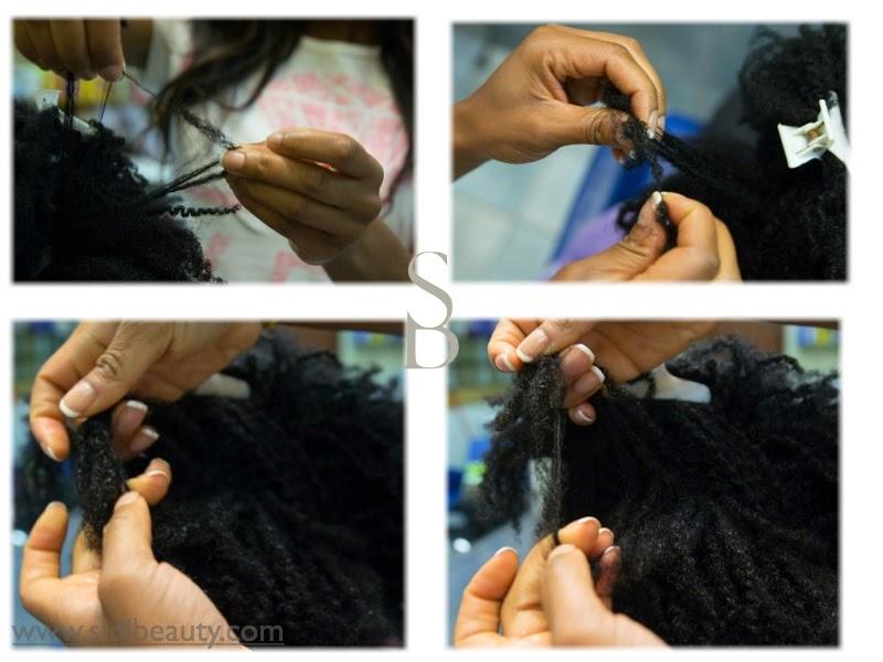desenredando pelo afro