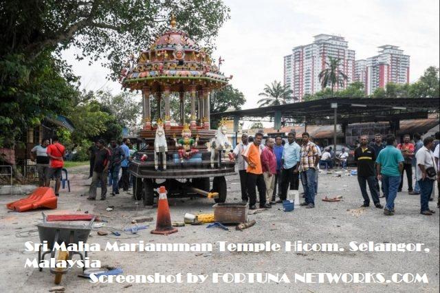 Chronology Tarikh Pembinaan & Isu Panas,Sri Maha Mariamman Temple Hicom, Selangor Malaysia