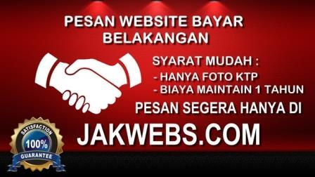 paket website, PESAN WEBSITE BAYAR BELAKANGAN