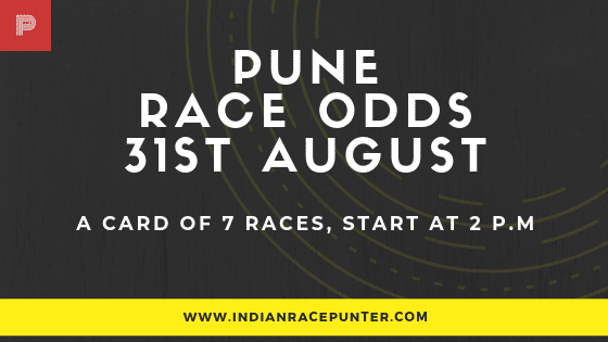 Pune Race Odds 31 August