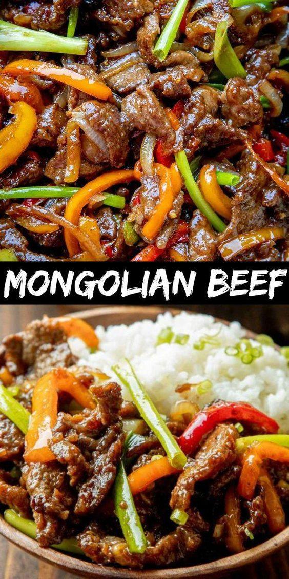 The Most Amazing Mongolian Beef Recipe