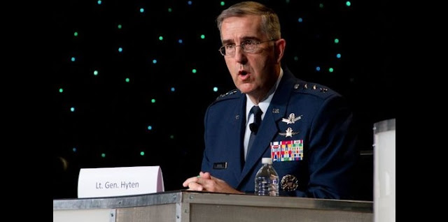 Gen. John Hyten, the commander of Air Force Space Command. Credit: Air Force