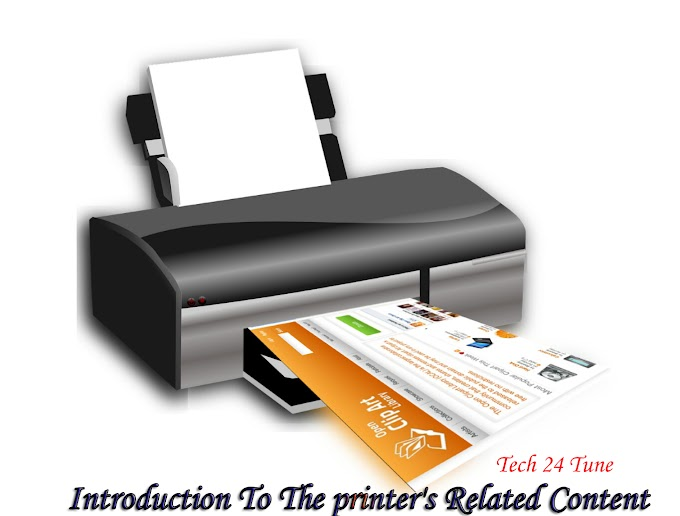 Introduction to the printer's related content