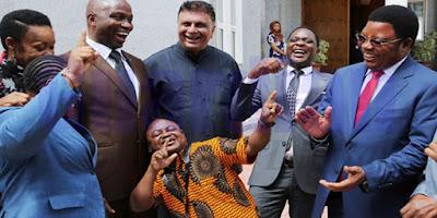 Pierre Konki Liquid Kuambatana na Wabunge 48 Kwenda Misri