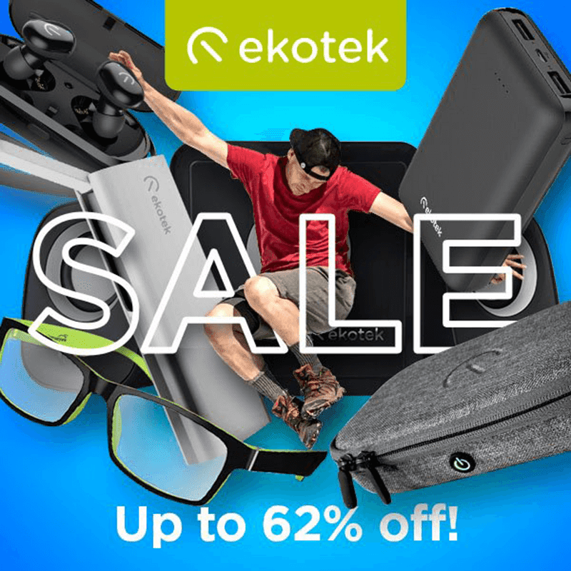 Deal: Ekotek Gadgets are up to 62 percent off via Shopee and Lazada