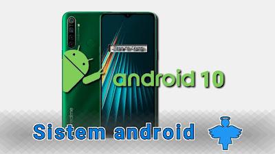 Versi android 10 realme