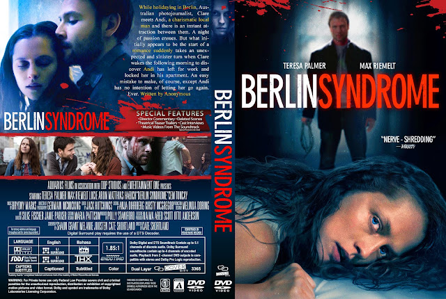 Berlin Syndrome DVD Cover