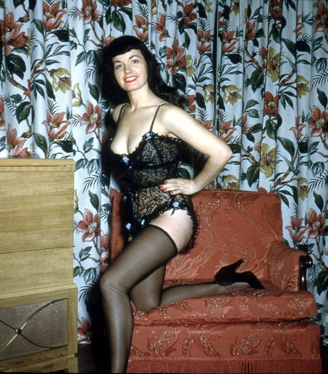 bettie page color # 13