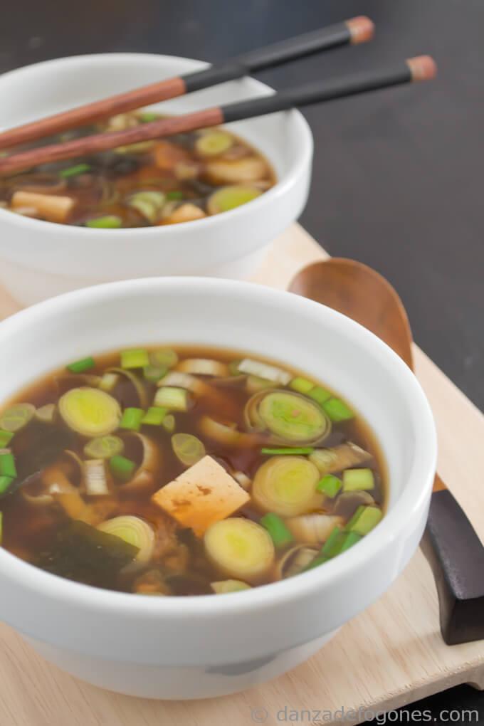 Miso soup - danceofstoves.com