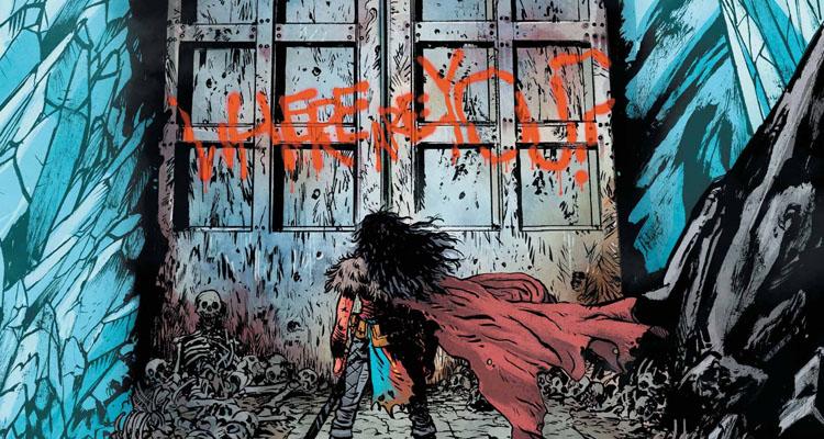 Detalle de Wonder Woman: Tierra Muerta Vol.1, de Daniel Warren Johnson
