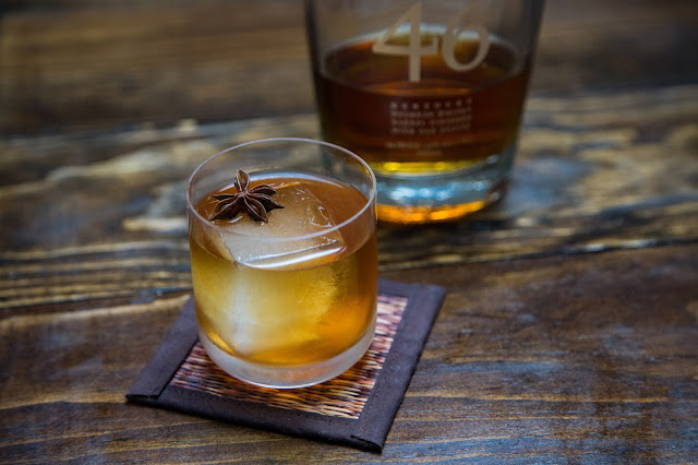 Spiced Old Fashioned with Maker's 46