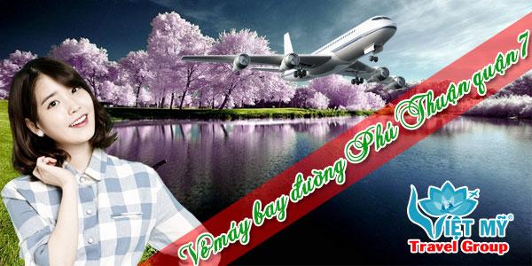 Vé máy bay đường Phú Thuận quận 7