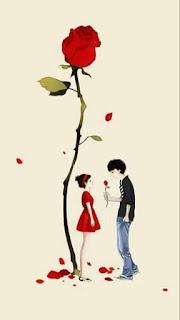 contoh gambar wallpaper wa love