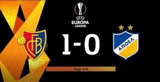 LIVE: BASEL 1-0 APOEL [4-0agg.] UEL «Ο αγώνας χάθηκε στη Λευκωσία»