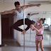 Varun Dhawan pole dance with Jacqueline Fernandez