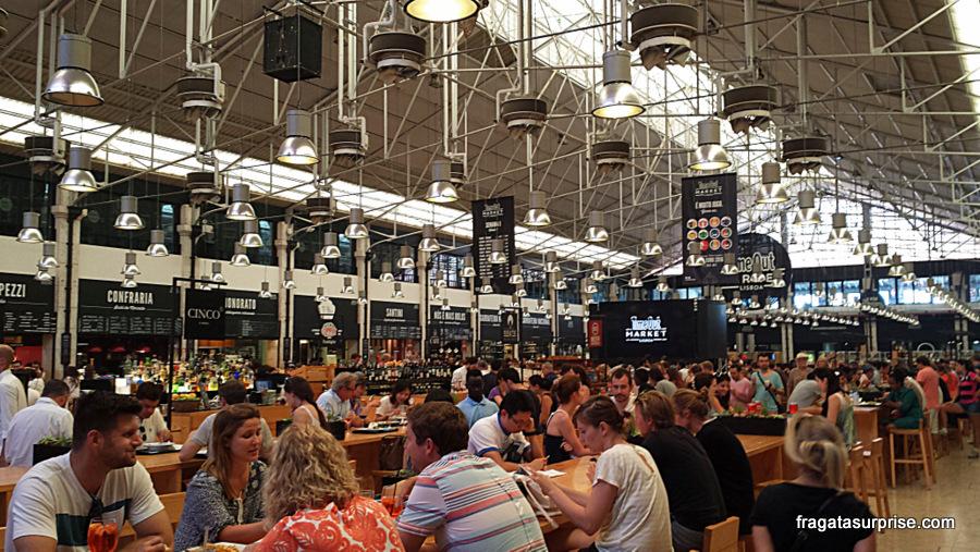 A Fragata Surprise  Comer em Lisboa  Mercado da Ribeira - reunião de ... 61e4f223963ae