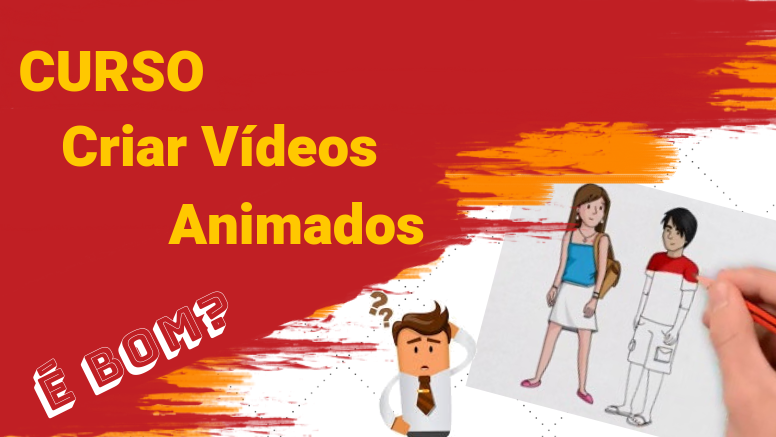 curso criar vídeos animados