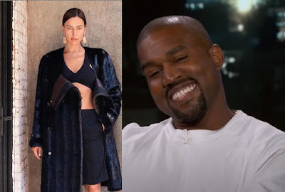 Kanye West spotted with his new girlfriend Irina Shayk in France amid divorce with Kim Kardashian