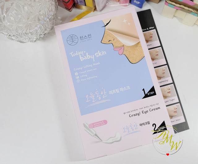 a photo of Crazy! Lifting Mask review by Nikki Tiu of www.askmewhats.com