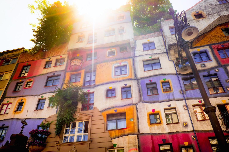 La Vienna di Hundertwasser by R. Halfpaap