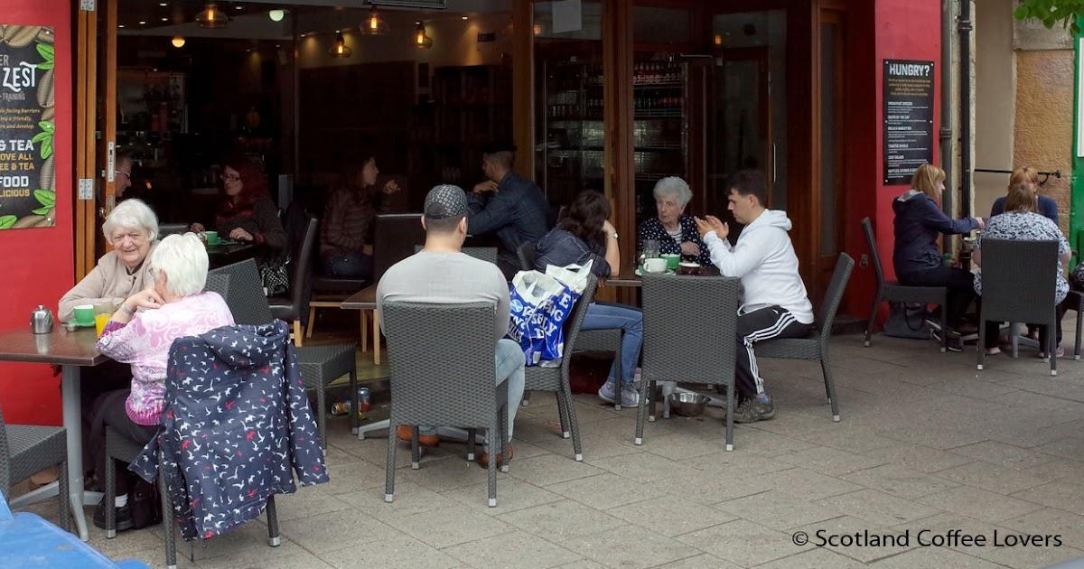 Zest Cafe St Andrews Menu
