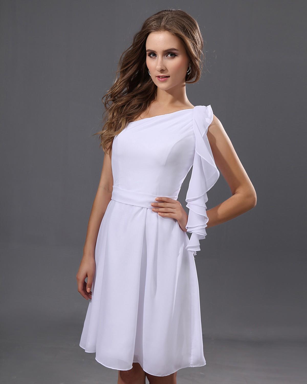 Designer Evening Dresses Sale On White: WhiteAzalea Cocktail Dresses: Simple Yet Elegant White