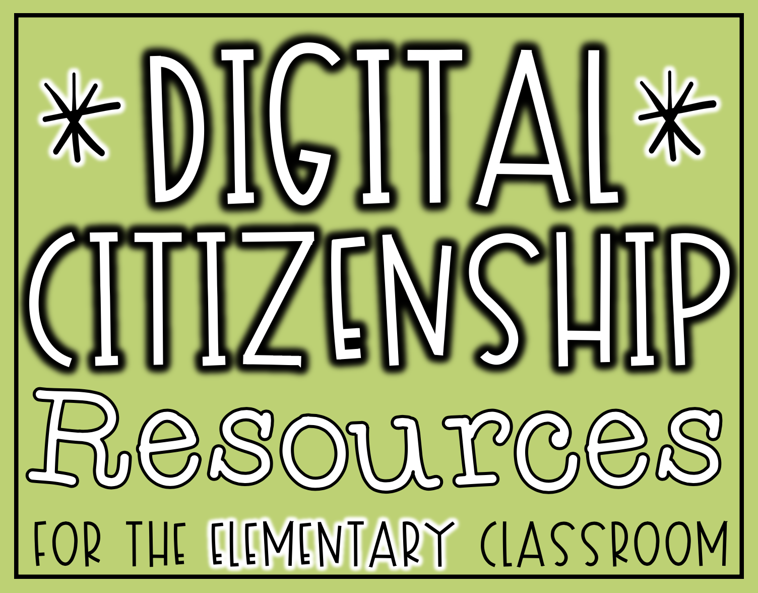 Digital Citizenship Resources for the Elementary Classroom   The Techie  Teacher® [ 1176 x 1504 Pixel ]