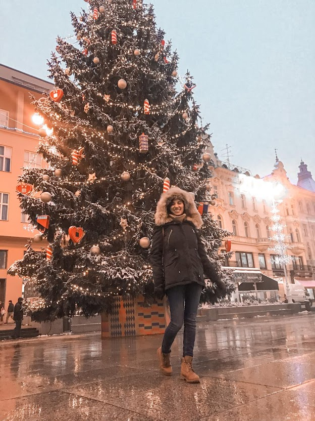 Advent in Zagreb 2020 Christmas Tree