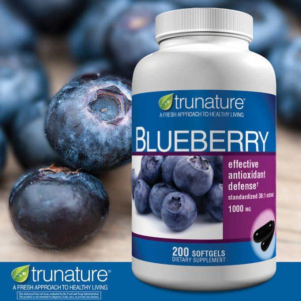 Trunature Blueberry 200 viên