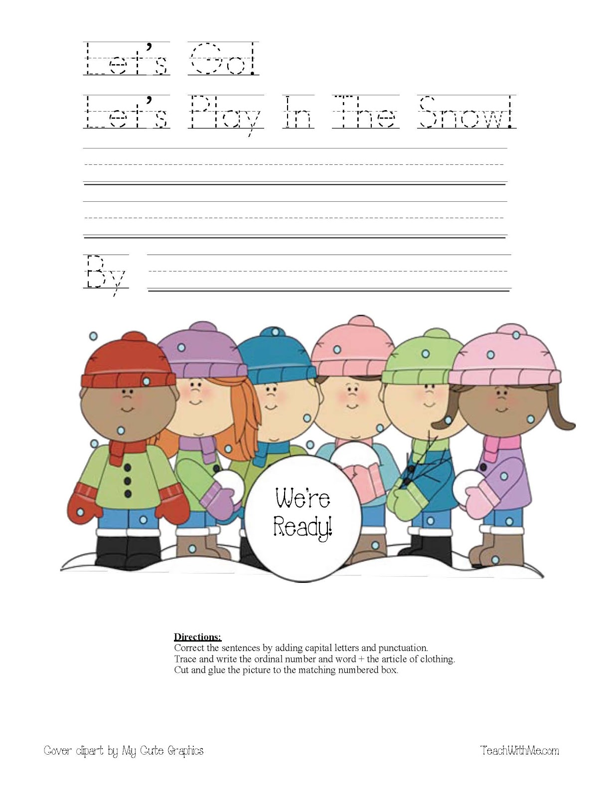 Let S Go Let S Go Play In The Snow Easy Reader