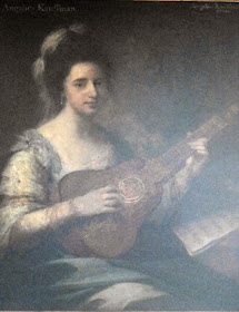 Angelica Kauffman painted by herself (c1764)