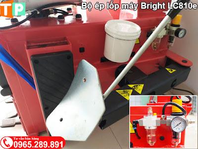 Bộ ép lốp máy tháo lốp Bright LC810e