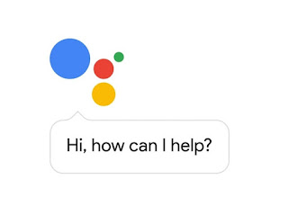 Google assistant open and show how can i help you