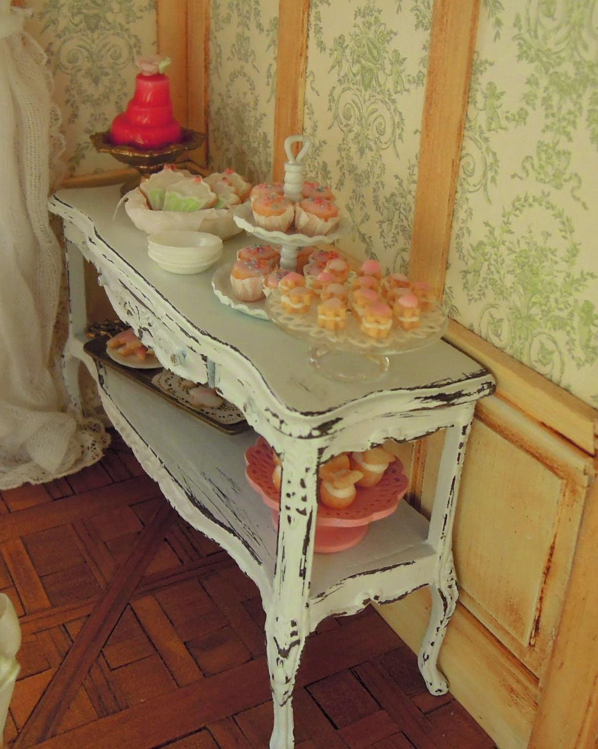 cream puff chair blue adirondack liberty biberty a miniature party for one