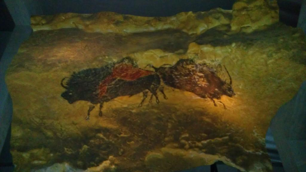 Cave painting reproduction